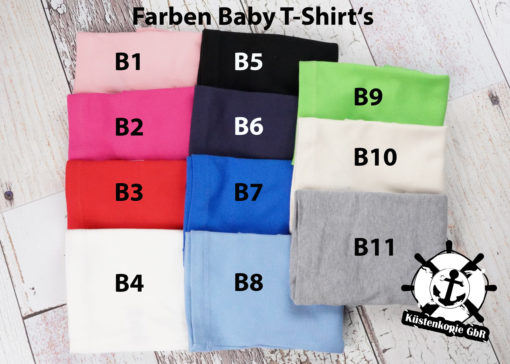 Kinder T-Shirt Einhorn personalisiert, Shirt bestickt, Geburtstagsshirt KIN-Kinder 8