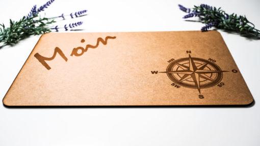 Unterlage Moin Kompass natur MAR-Maritim 2