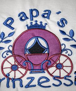 Kinder T-Shirt Kutsche personalisiert, Shirt bestickt, Geburtstagsshirt KIN-Kinder 2