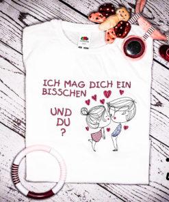 Kinder T-Shirt Junge und Mädchen personalisiert, Shirt bestickt, Geburtstagsshirt KIN-Kinder