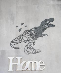Wanddekoration, Wandbild Dino in verschiedenen Farben, Lasergeschnittenes Bild, Dekoration BIL-Bilder 2